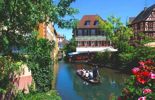 Découvrez la petite Venise à Colmar