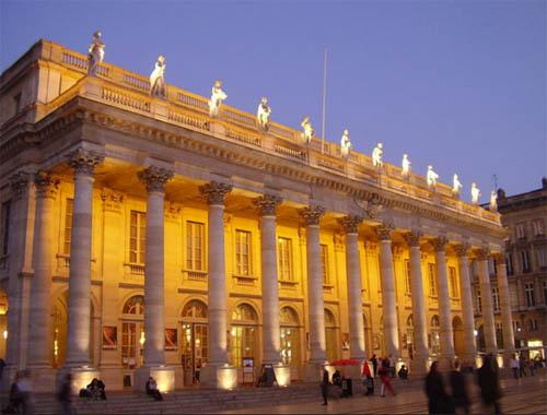 Soirée spectacle au Grand Théâtre de Bordeaux