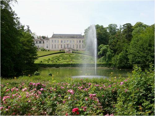 Promenade romantique dans le Parc Floral de la Source