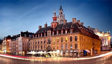 Dîner romantique au centre-ville de Lille