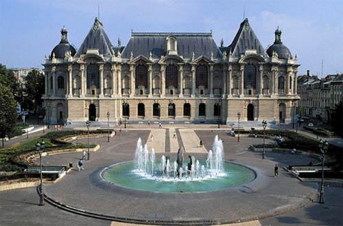 Visite du Palais des Beaux-Arts