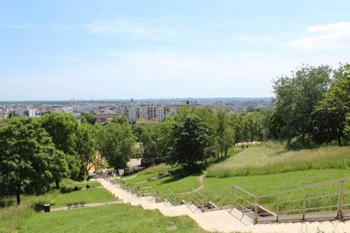 Profitez des beaux jours au Parc Jean-Moulin des Guilands