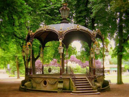 Promenade au Parc de la Pépinière