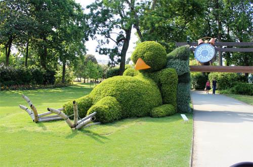 Sortie bucolique au Jardin des Plantes