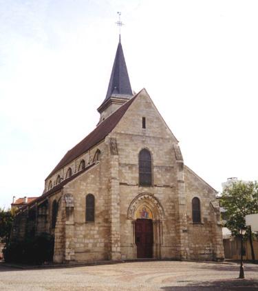 Patrimoine religieux: Eglise Saint-Baudile