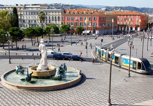 Journée shopping au centre-ville de Nice
