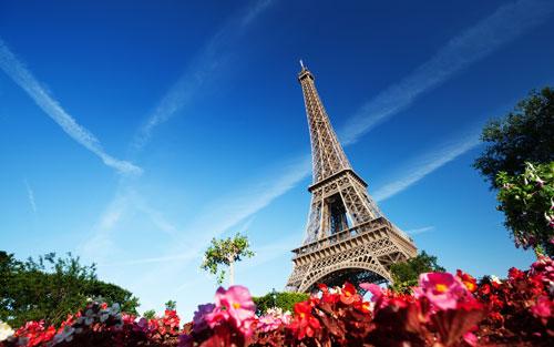 Panorama assuré depuis la terrasse de la Tour Eiffel