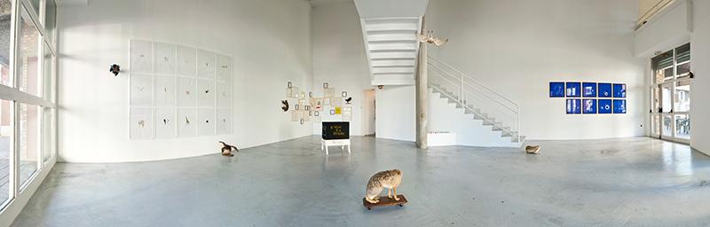 Exposition d'art contemporain à l'Espace Vallès