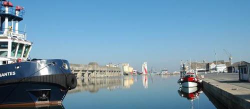 Balade dans le Port de Saint-Nazaire