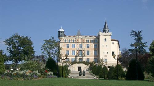 Visite du château de Saint-Priest