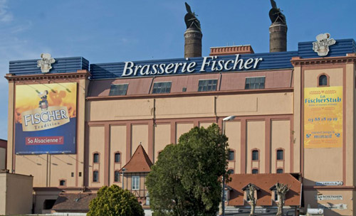 La brasserie Fischer, symbole de la ville